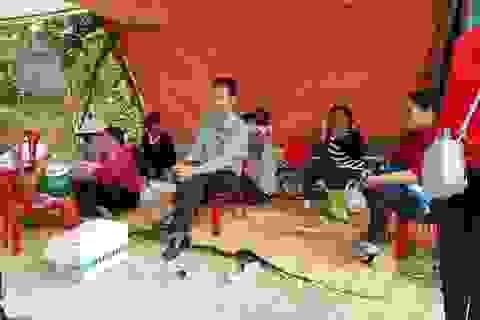 """Ninh Bình: Tạm dừng xây dựng đài hóa thân nhiều """"tai tiếng"""" bị dân phản đối!"""