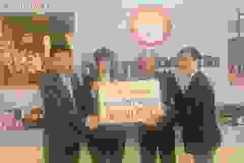 Shinnyo-en đánh giá cao hoạt động công tác xã hội của Quỹ Khuyến học Việt Nam và báo Dân trí