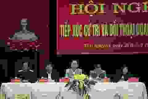 """Thái Nguyên: Tỉnh trực tiếp đối thoại, """"gỡ rối"""" cho doanh nghiệp"""