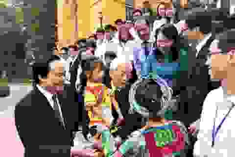 Tổng Bí thư, Chủ tịch nước gặp mặt học sinh, sinh viên tiêu biểu, xuất sắc
