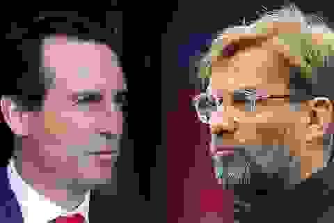 """Arsenal đối đầu Liverpool: Đòn """"cân não"""" giữa Emery và Klopp"""