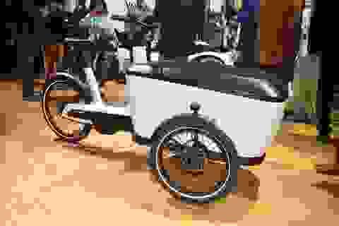"""Cargo e-Bike - """"Xích-lô"""" thương hiệu Đức"""