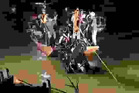 Xác định danh tính chủ xe Mercedes rơi khỏi cầu Chương Dương