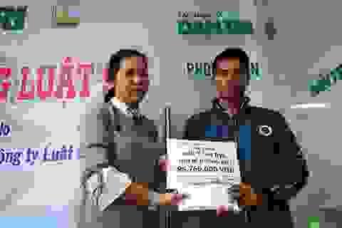 Hơn 95 triệu đồng đến với bé H' Oanh