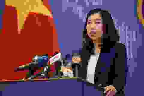 Việt Nam yêu cầu Trung Quốc chấm dứt ngay hoạt động quan trắc trái phép ở Trường Sa