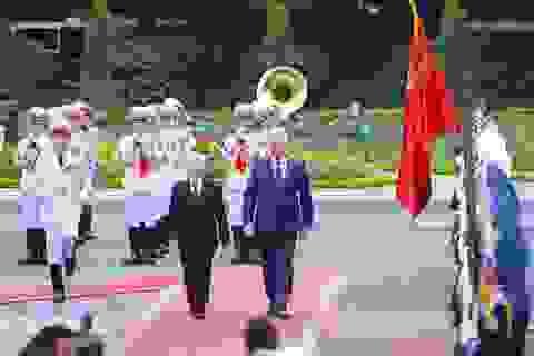 Tổng Bí thư, Chủ tịch nước Nguyễn Phú Trọng chủ trì lễ đón lãnh đạo Cuba