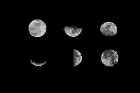 Bạn biết gì về pha của Mặt Trăng?