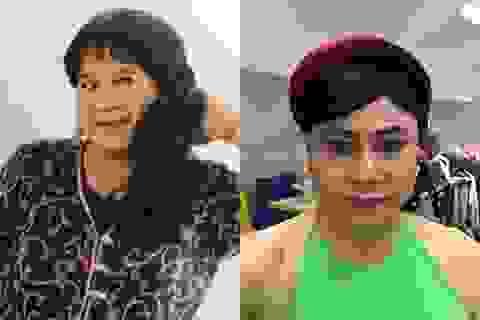 Minh Vượng tung ảnh làm người mẫu thời trẻ; Tự Long mặc yếm giả gái