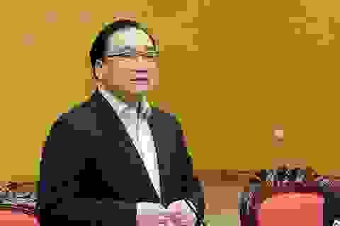 """Bí thư Hà Nội: Xử lý cán bộ xong, công trình """"xẻ thịt"""" rừng Sóc Sơn vẫn... còn nguyên"""