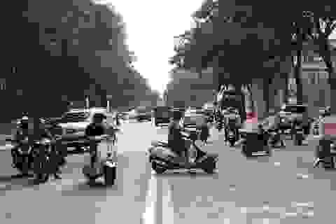 Cấm đường phục vụ giải Marathon quốc tế, giao thông trung tâm Sài Gòn hỗn loạn
