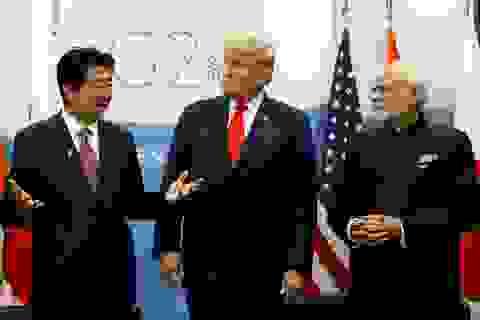 Lãnh đạo Mỹ, Nhật, Ấn ủng hộ khu vực Ấn Độ - Thái Bình Dương tự do và mở cửa