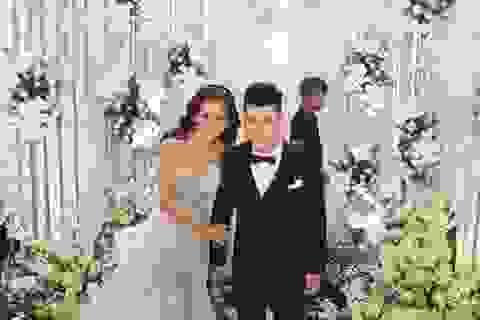 Không gian tiệc cưới lộng lẫy của Ưng Hoàng Phúc - Kim Cương