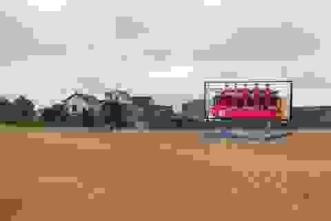 """Nhiều vùng quê lắp màn hình """"khủng"""" cổ vũ cho đội tuyển Việt Nam"""