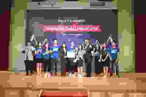 Ý tưởng cho thuê đồ cũ của sinh viên thắng lớn tại giải Business Challenges 2018