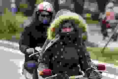 Hà Nội trong buổi sáng mùa đông giá lạnh