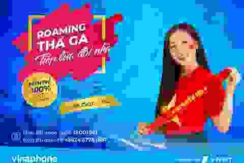 Vinaphone miễn phí DATA Roaming trong ngày diễn ra trận chung kết Việt Nam- Malaysia