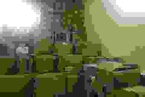 Phát hiện xe container chở lô hàng lậu trị giá gần nửa tỷ đồng
