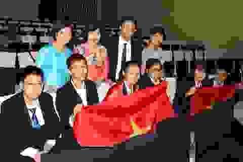 Việt Nam đoạt 4 huy chương Vàng kỳ thi Khoa học trẻ quốc tế