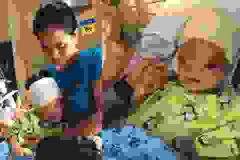 Bé 3 tuổi có khuôn mặt dị dạng đã được phẫu thuật tại Singapore