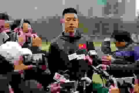 Huy Hùng nói gì trước cuộc tái đấu với Malaysia ở Mỹ Đình?