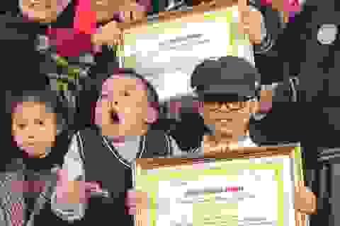 Trao giải cuộc thi tìm hiểu kiến thức về dinh dưỡng trẻ em