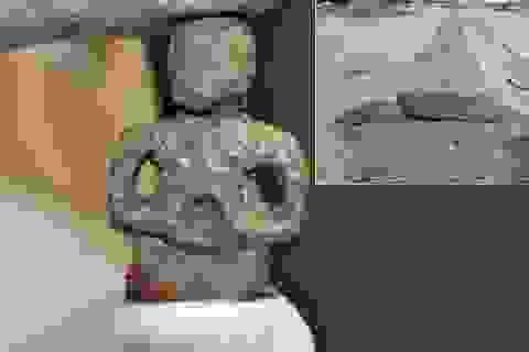 Phát hiện tượng thần bằng kim loại 2.000 năm tuổi của người Celt