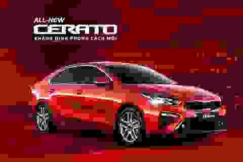Kia All-New Cerato khẳng định phong cách mới, lớn nhất phân khúc C