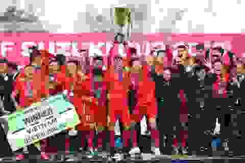 Đánh bại Malaysia, đội tuyển Việt Nam lên ngôi vô địch AFF Cup 2018