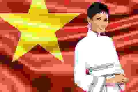Sao Việt tưng bừng chúc mừng H'hen Nie lọt top 5 Hoa hậu Hoàn vũ