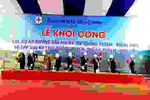 Phó Thủ tướng phát lệnh khởi công đường dây 500kV mạch 3