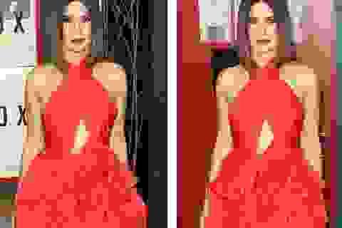 Sandra Bullock rực rỡ với váy đỏ