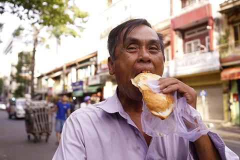 TPHCM: Ổ bánh mì nghĩa tình chiều Chủ nhật