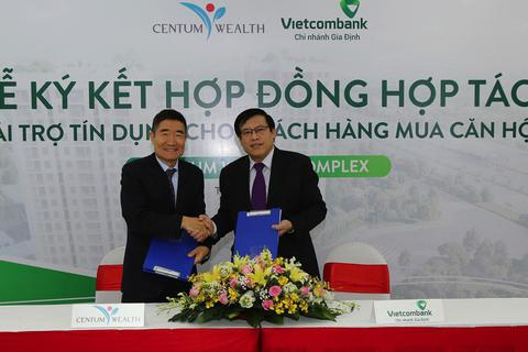 Vietcombank và Bách Phú Thịnh ký kết hợp đồng tài trợ tín dụng cho dự án Centum Wealth Complex