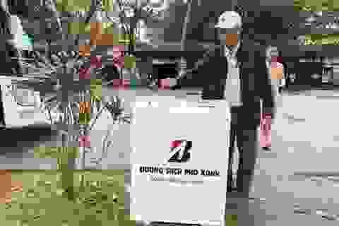 """Huế tiếp nhận nhiều thùng rác thông minh """"biết nói"""" cảm ơn"""