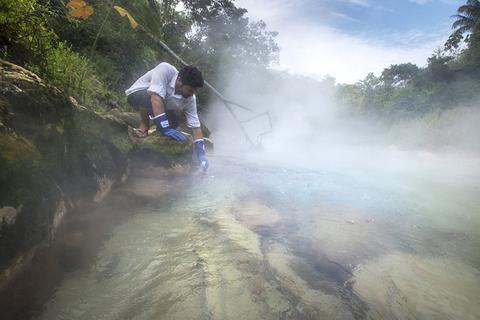 """Phát hiện dòng sông """"siêu nóng"""" bí ẩn ở Amazon"""
