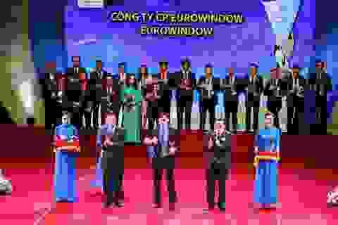 Eurowindow lần thứ 4 liên tiếp đạt Thương hiệu Quốc gia