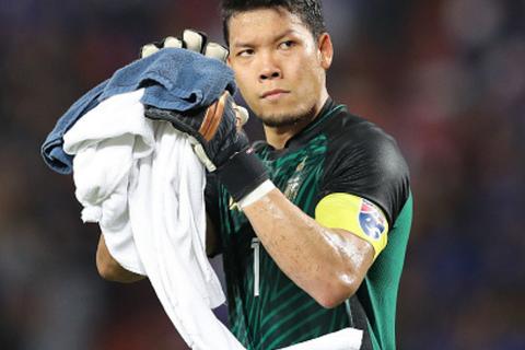 Thái Lan mất thủ môn số 1 tại Asian Cup 2019
