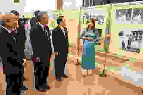 Triển lãm ảnh kỷ niệm 60 năm Chủ tịch Triều Tiên thăm Việt Nam