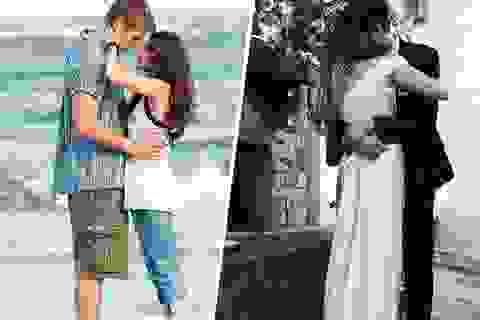 """10 năm """"giông bão"""", một căn nhà cháy, một lễ cưới đẹp"""