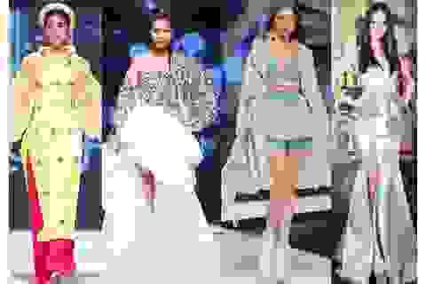 Hoa hậu Tiểu Vy, Phương Khánh, Thanh Hằng, Lệ Hằng đọ vẻ quyến rũ