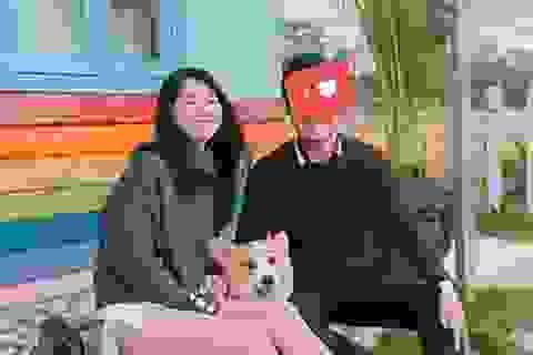 """""""Hot girl Reuters"""" Kiều Trinh úp mở hình ảnh bạn trai mới"""