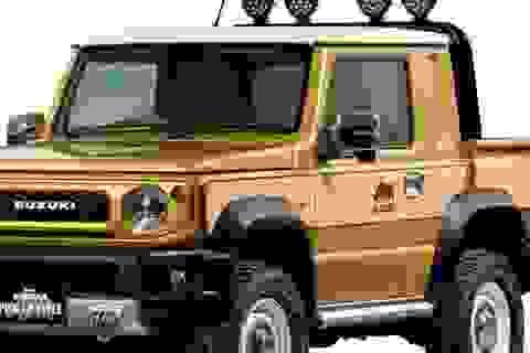 """Suzuki làm phiên bản bán tải cho """"hàng hot"""" Jimny"""