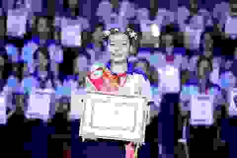 Nữ sinh 13 tuổi là một trong 9 gương mặt Công dân trẻ tiêu biểu TPHCM 2018