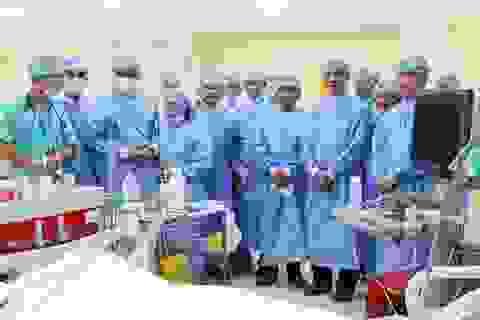 Bệnh viện Chợ Rẫy chuyển giao kỹ thuật cho Bệnh viện Thanh Vũ