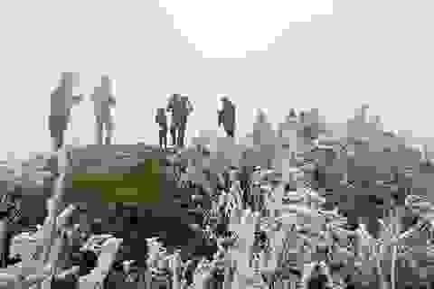 """Đi """"săn"""" băng tuyết cần lưu ý gì để không đổ bệnh vì mưa rét?"""