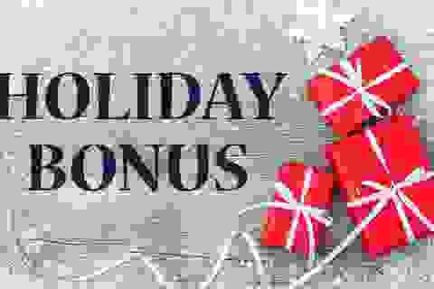 Thưởng cuối năm tại Mỹ: Từ thưởng ngày nghỉ đến những hàng chục ngàn USD
