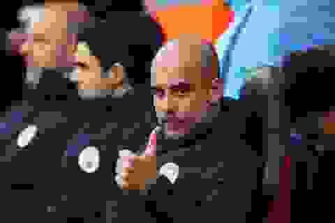 Những khoảnh khắc vui chiến thắng trở lại của Man City