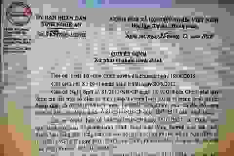 Nghệ An: Một cá nhân kinh doanh hàng lậu bị phạt 40 triệu đồng