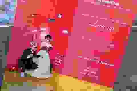 Thiệp cưới độc đáo của vlogger Huy Cung và bà xã hot girl