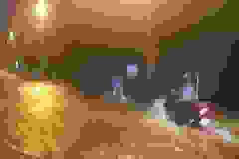 Quảng Trị: Mưa như trút nước, thành phố ngập cục bộ